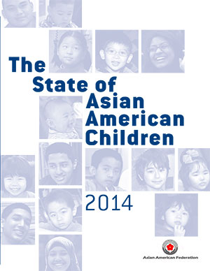 The State of Asian American Children Report Cover Graphic